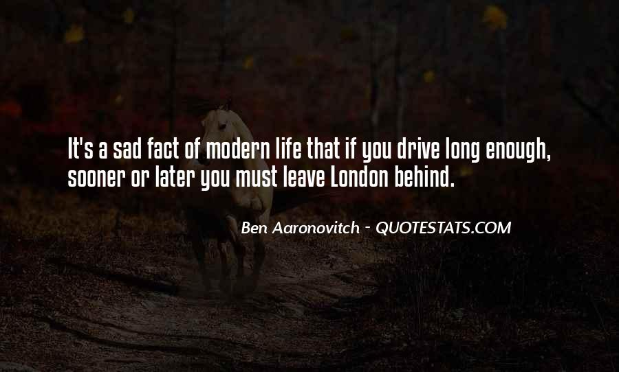 If You Must Leave Quotes #1724120