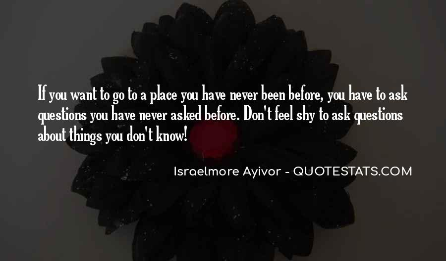 If You Never Ask Quotes #1048113