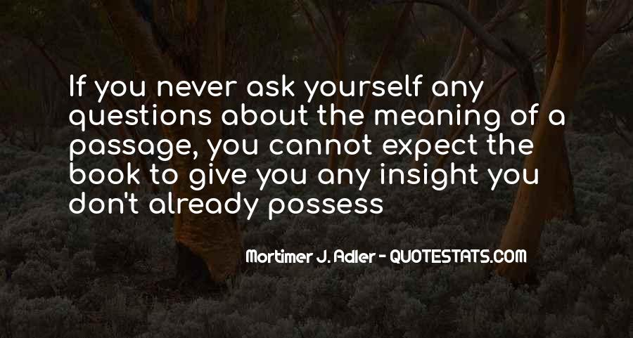 If You Never Ask Quotes #137255