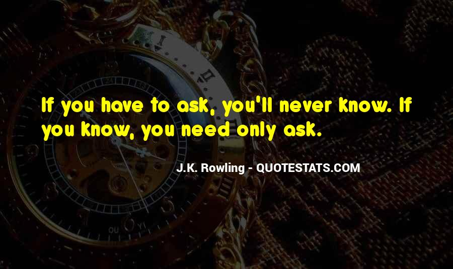 If You Never Ask Quotes #952270