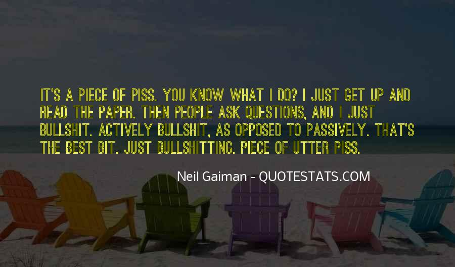 If You Piss Me Off Quotes #152545