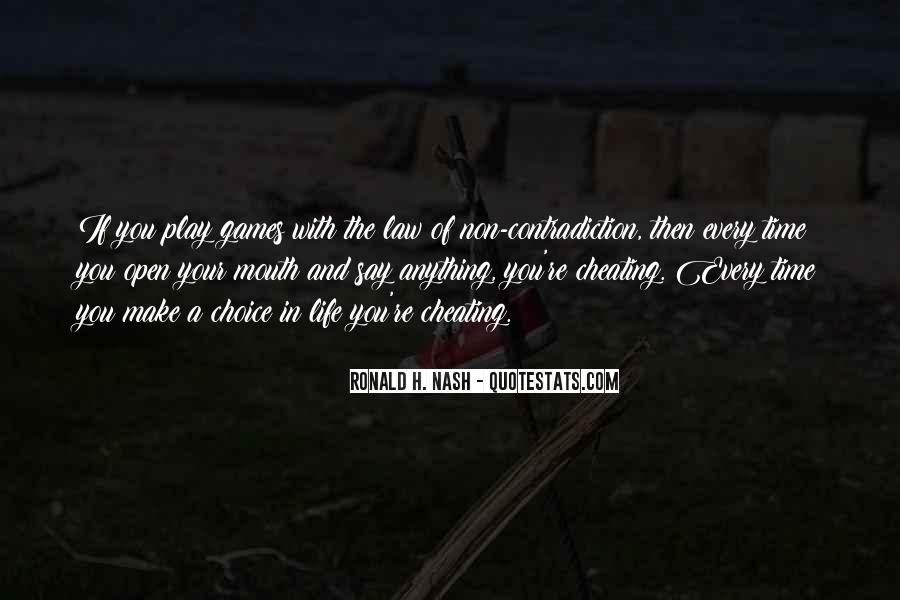 If You Play Games Quotes #1499483