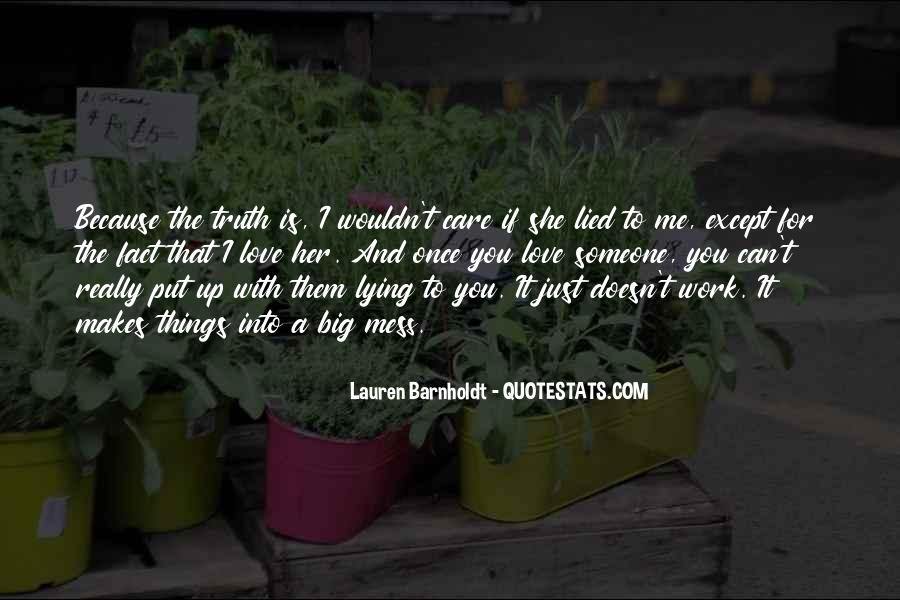 If You Really Love Her Quotes #784825