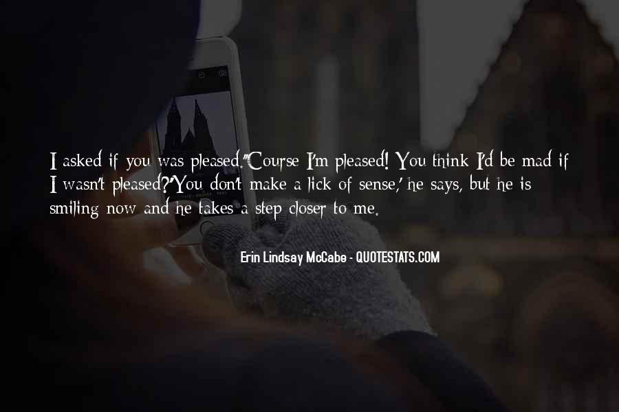 If You Think I'm Quotes #111212