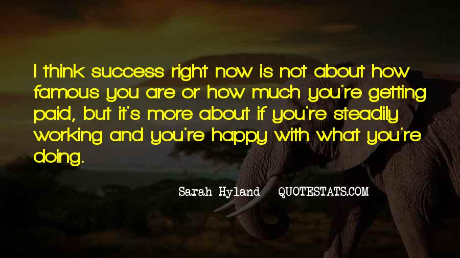 If You're Not Happy Quotes #1131675