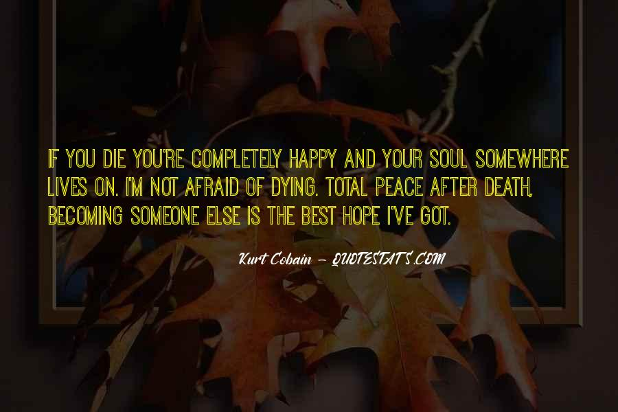 If You're Not Happy Quotes #474349