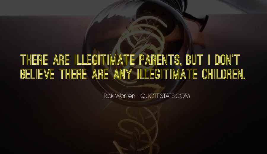 Illegitimate Quotes #1042539