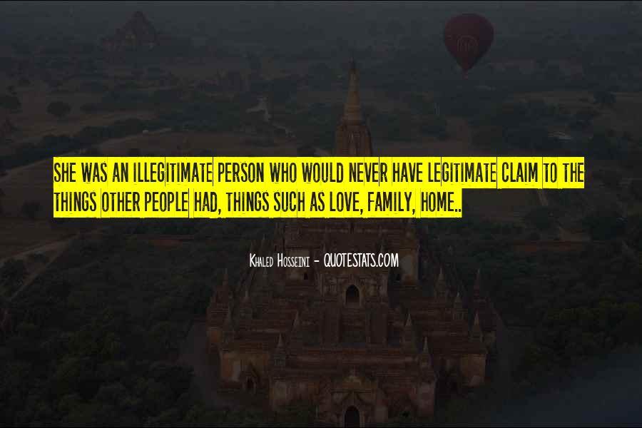 Illegitimate Quotes #1047195