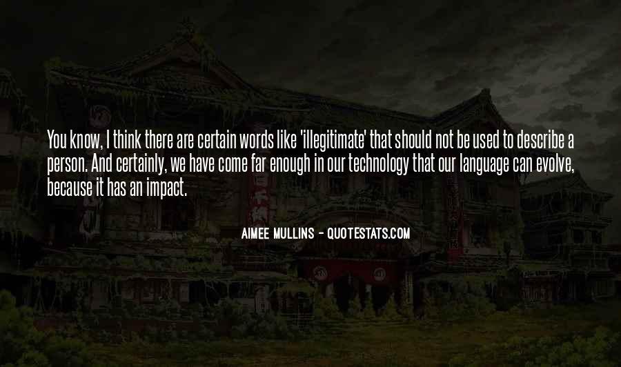 Illegitimate Quotes #1273626