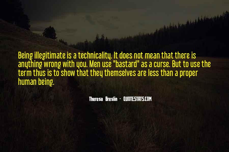 Illegitimate Quotes #1691277