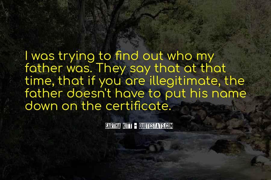 Illegitimate Quotes #738333
