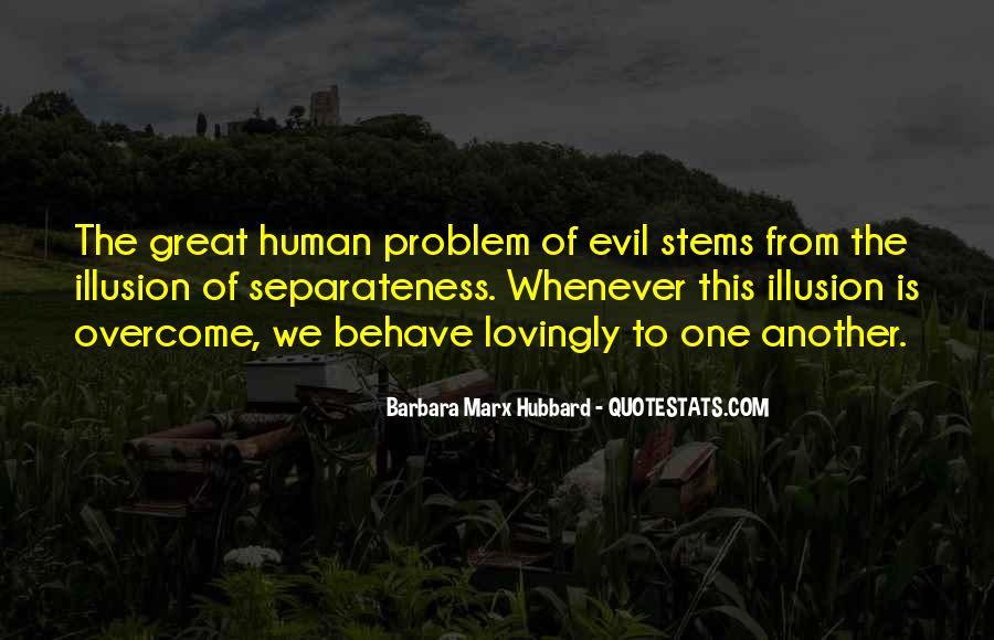 Illusion Of Separateness Quotes #1609782