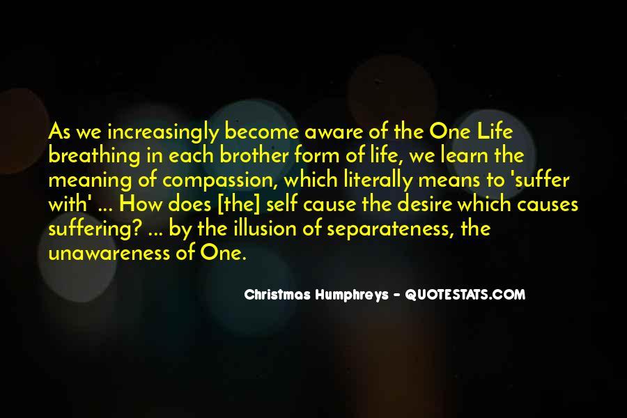 Illusion Of Separateness Quotes #833712