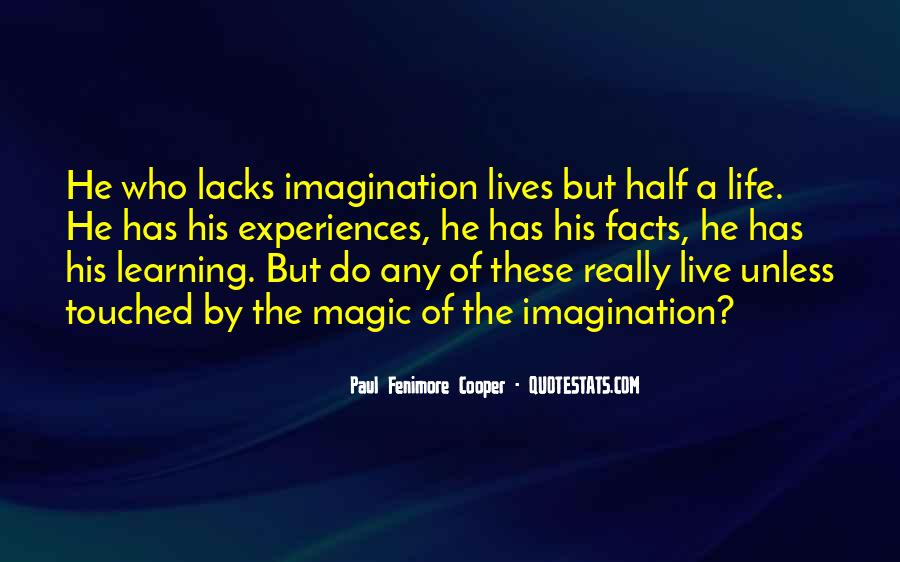 Imagination Magic Quotes #1017817