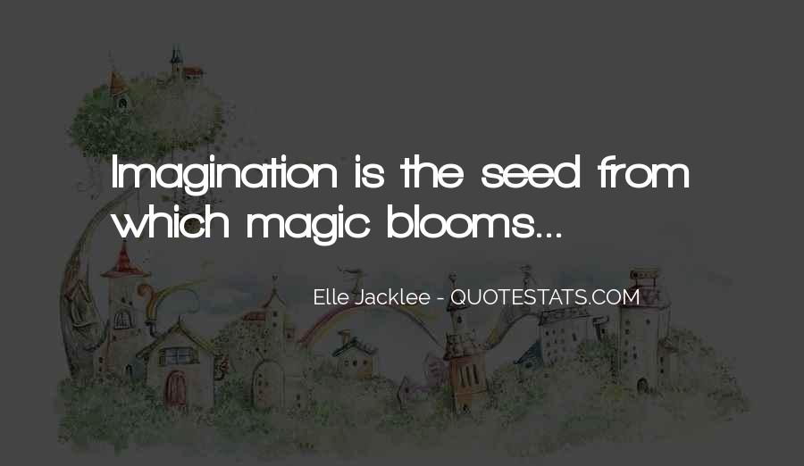 Imagination Magic Quotes #1486008