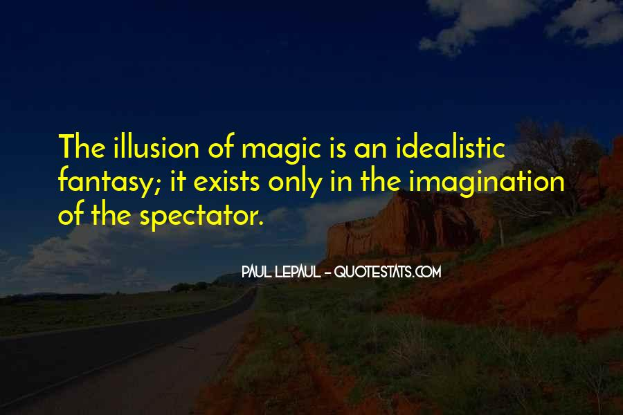 Imagination Magic Quotes #1506615