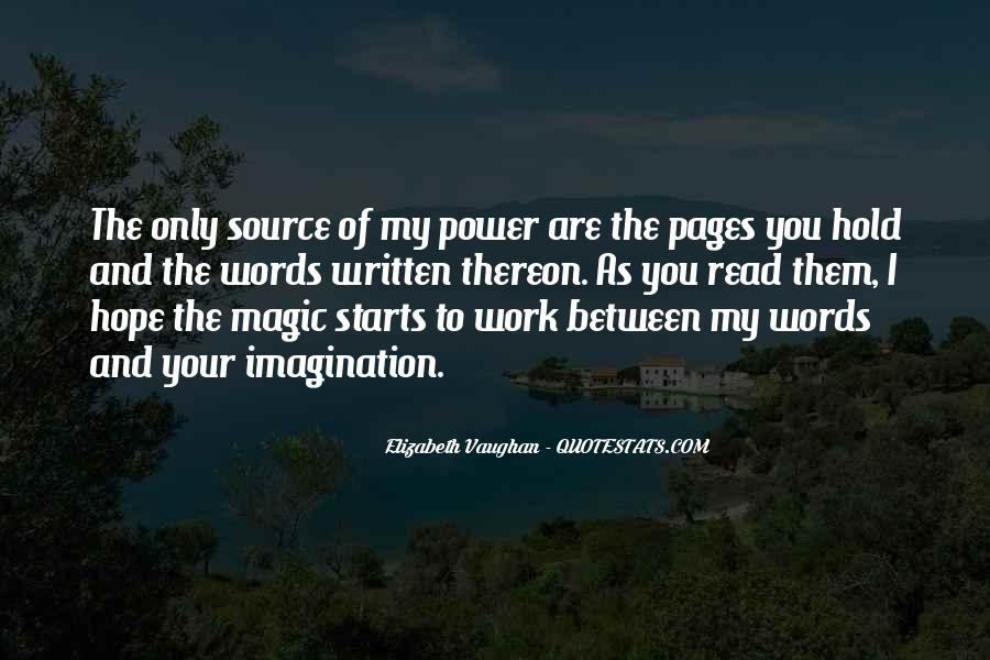 Imagination Magic Quotes #158912