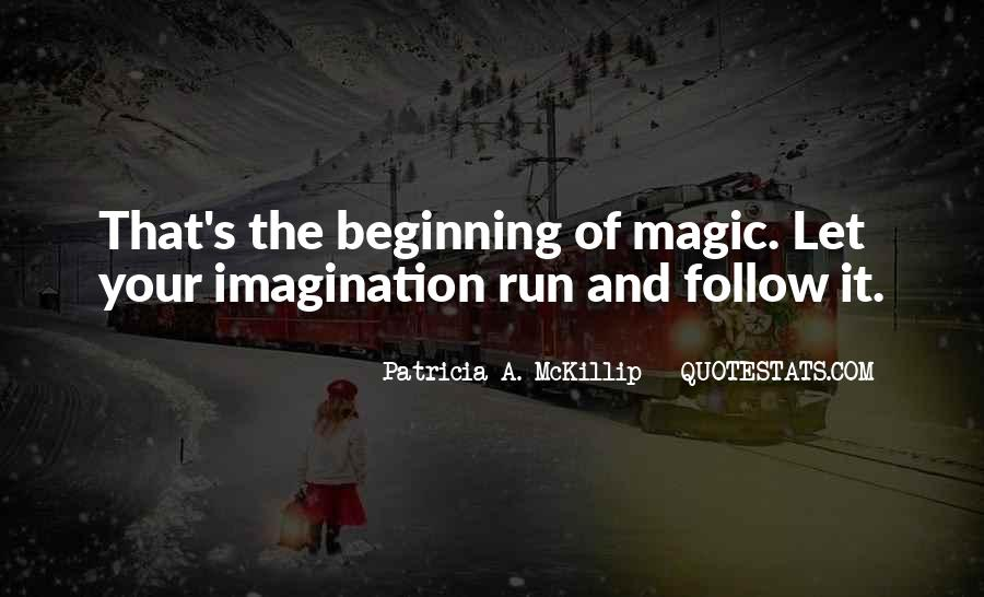 Imagination Magic Quotes #1689968