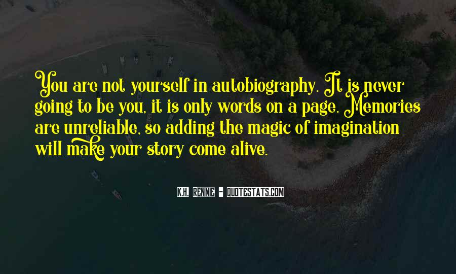 Imagination Magic Quotes #183727