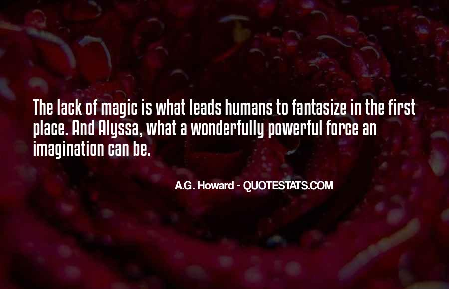 Imagination Magic Quotes #280368