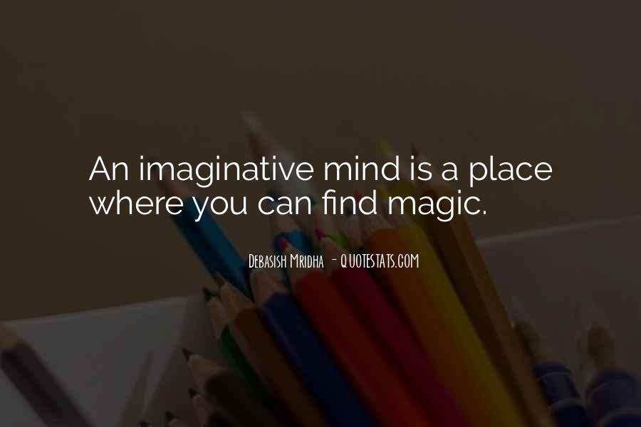 Imagination Magic Quotes #564490