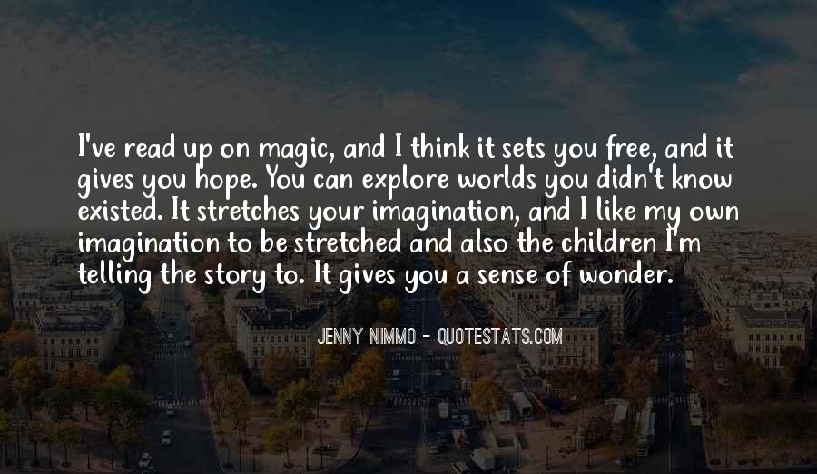 Imagination Magic Quotes #813582