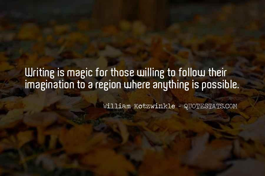 Imagination Magic Quotes #829856