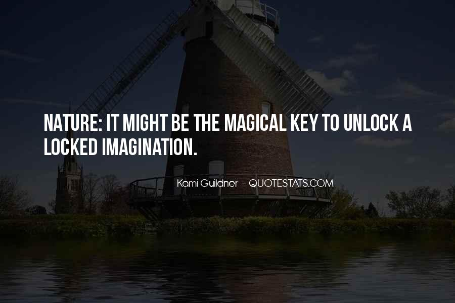 Imagination Magic Quotes #834328