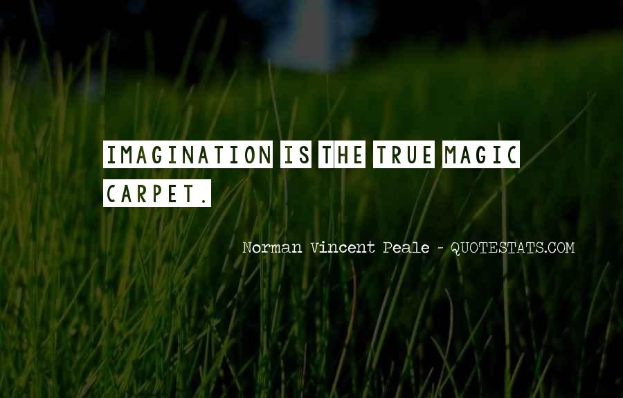 Imagination Magic Quotes #907992
