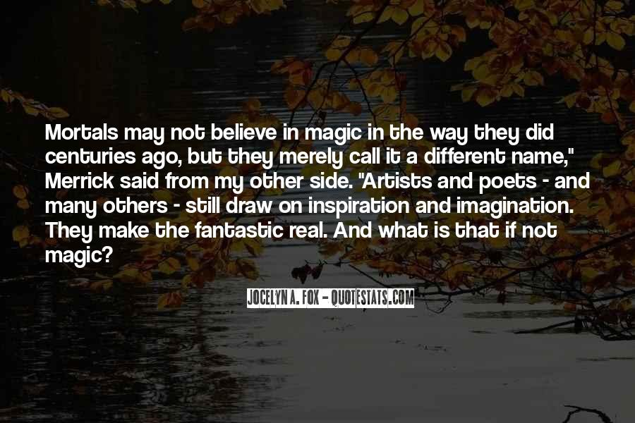 Imagination Magic Quotes #953552