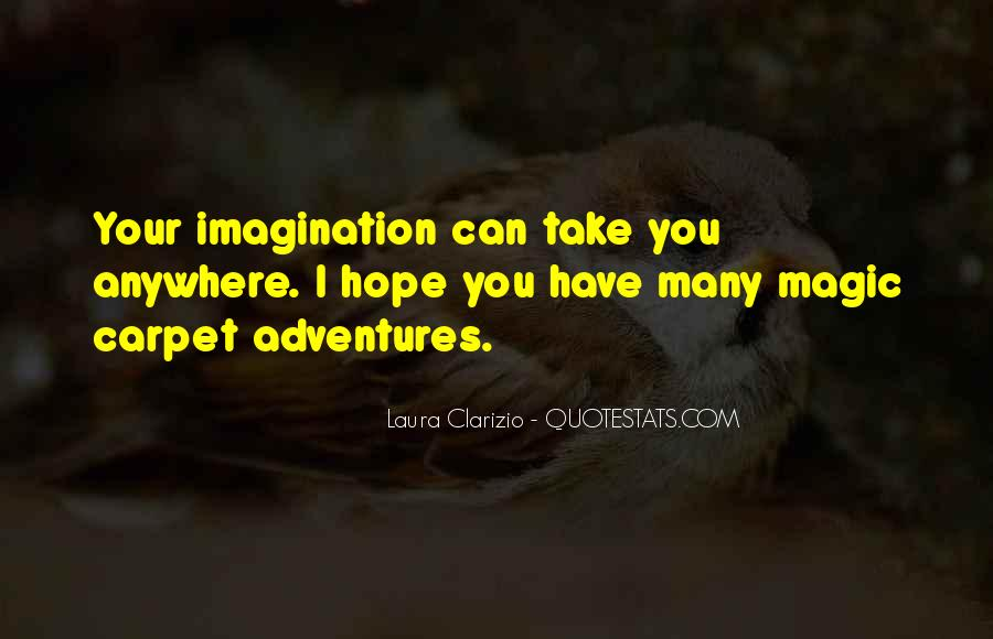 Imagination Magic Quotes #985267