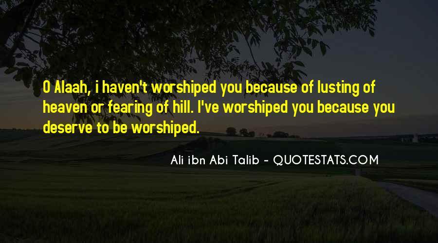 Imam Ali R.a Quotes #360009