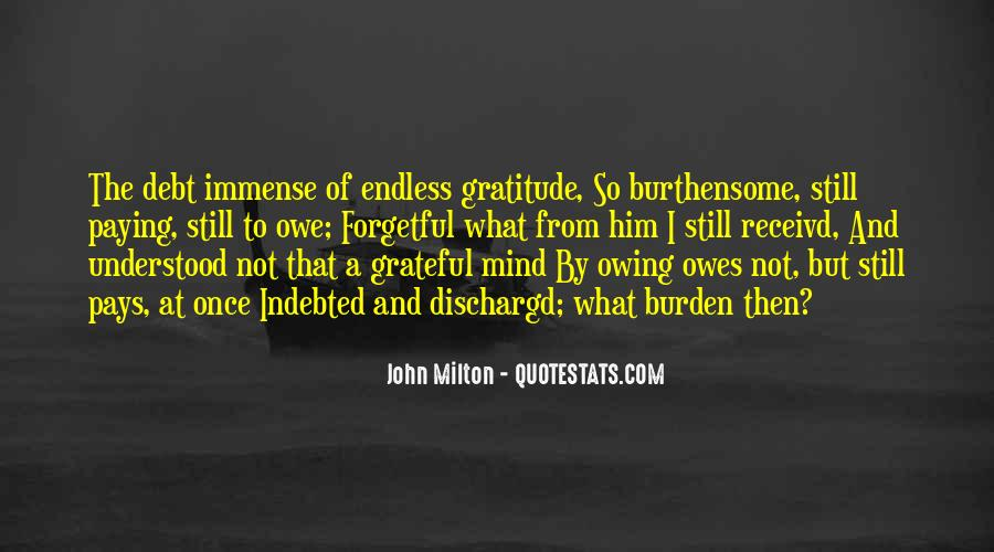 Immense Gratitude Quotes #1742318