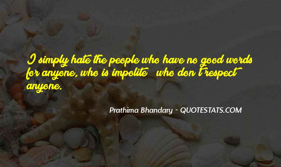 Impolite Quotes #1023556