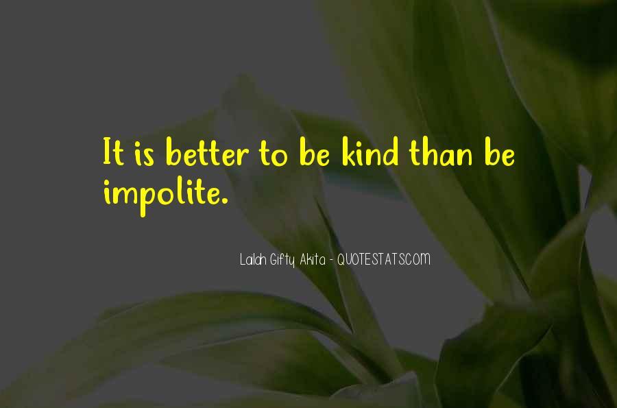 Impolite Quotes #1149778