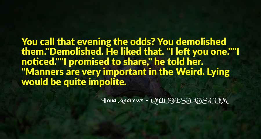 Impolite Quotes #233530
