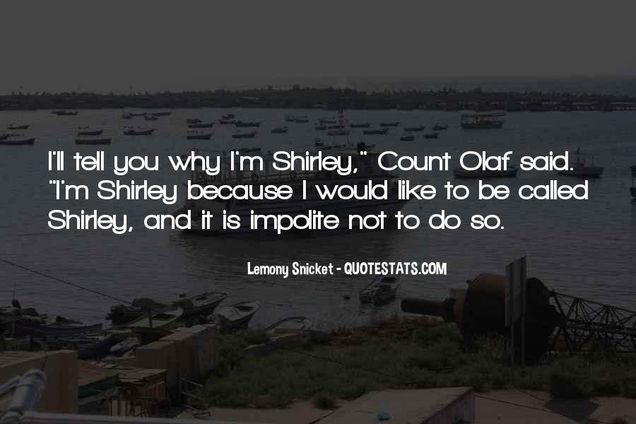 Impolite Quotes #95735
