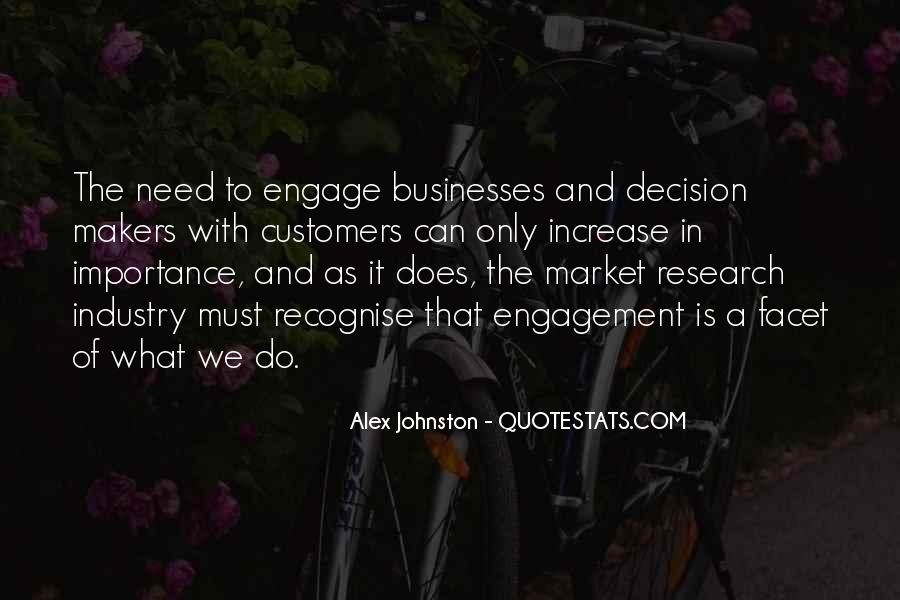 Importance Of Market Research Quotes #976033