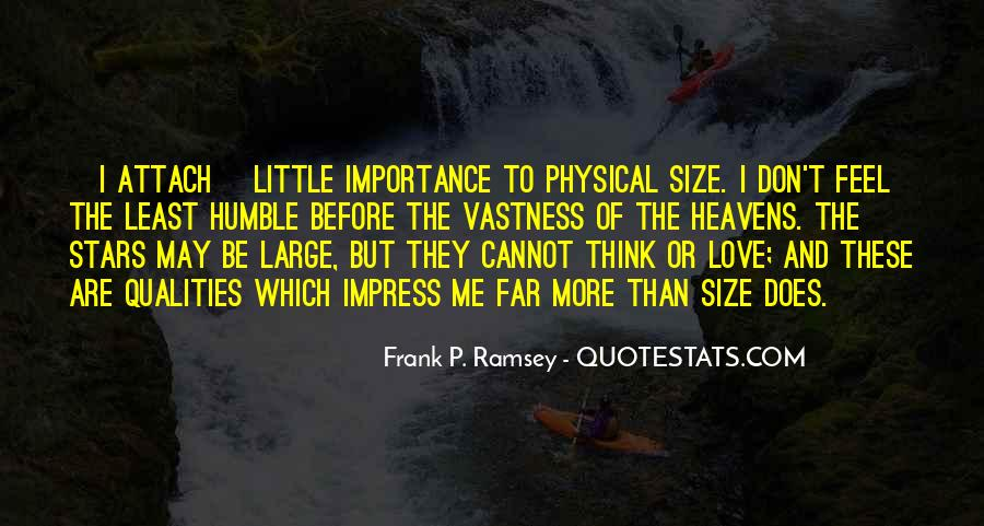 Importance Of Your Love Quotes #150623