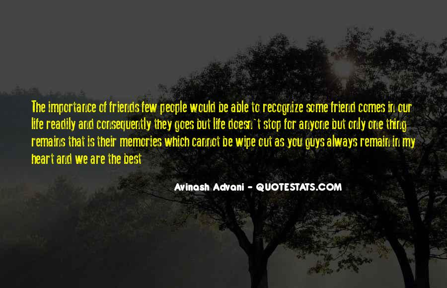 Importance Of Your Love Quotes #477617
