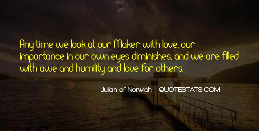 Importance Of Your Love Quotes #485945