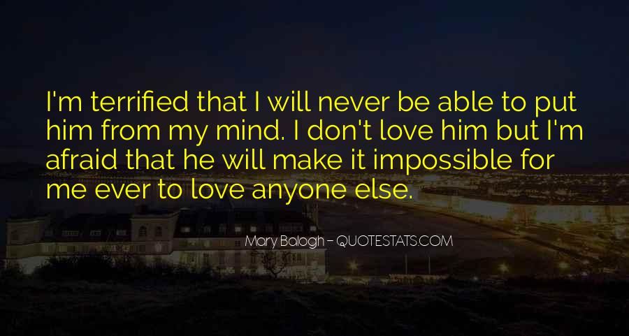 Importance Of Your Love Quotes #549273
