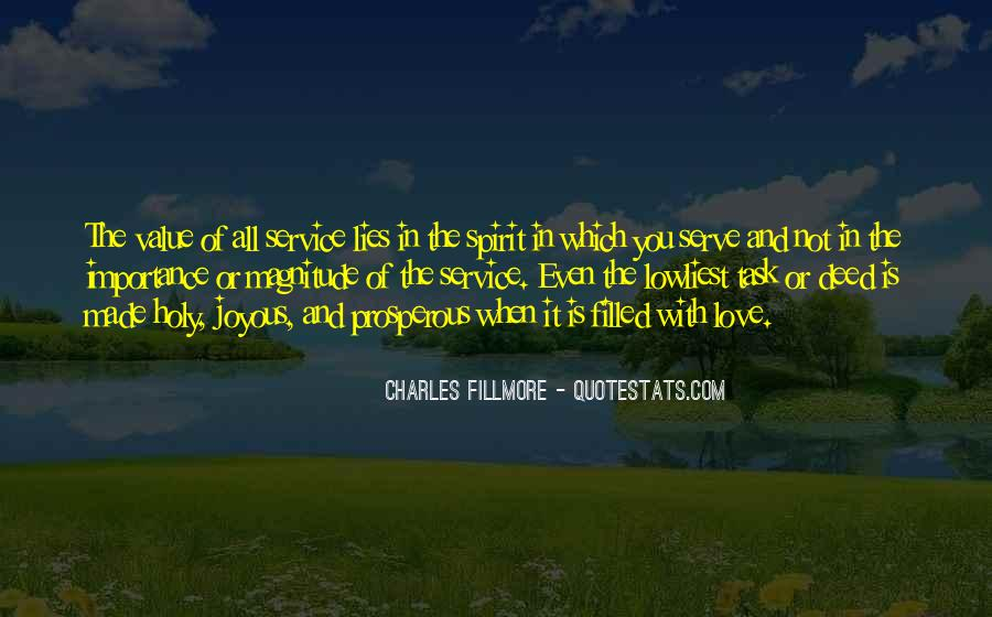 Importance Of Your Love Quotes #586159