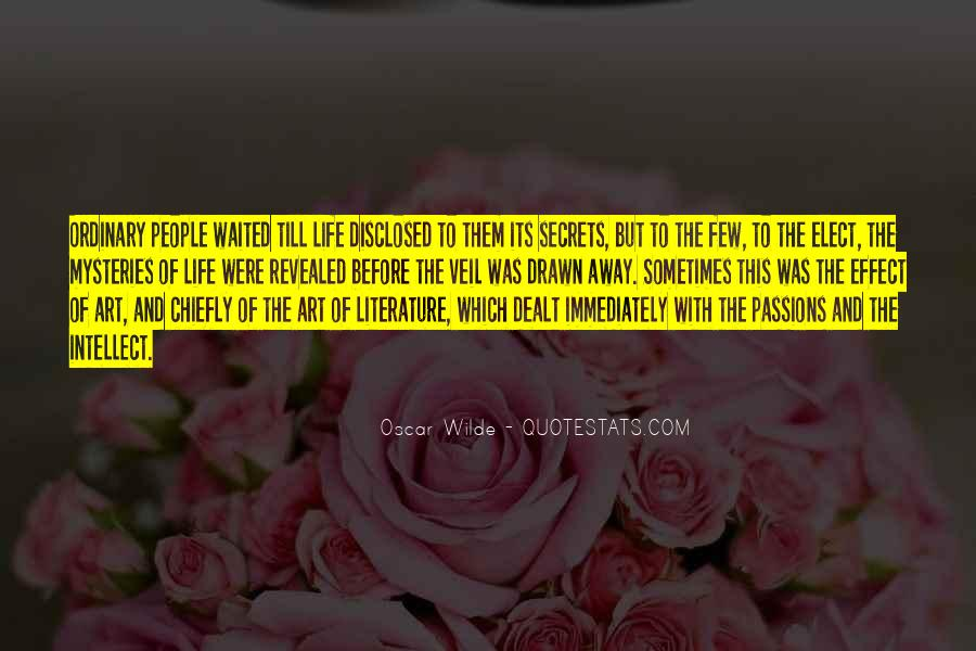 Quotes About The Art Of Literature #169951