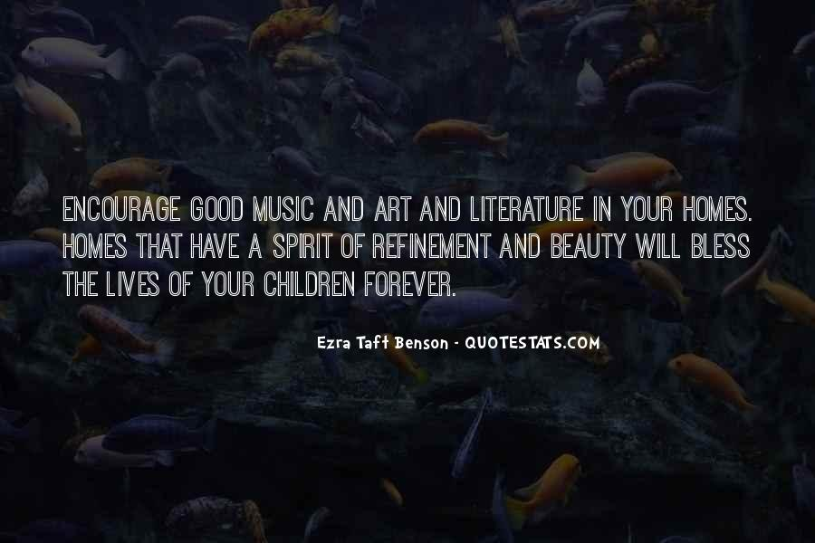 Quotes About The Art Of Literature #347570