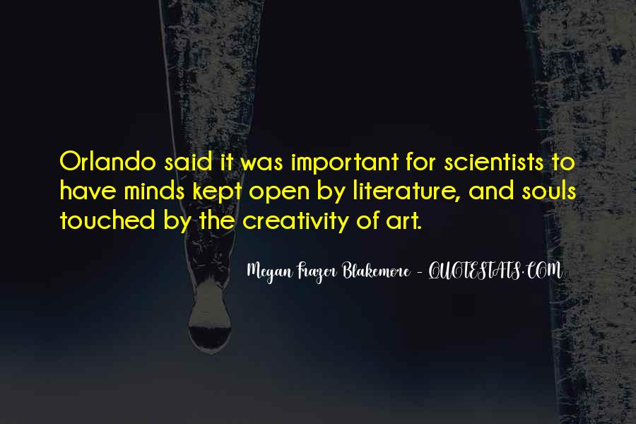 Quotes About The Art Of Literature #383825