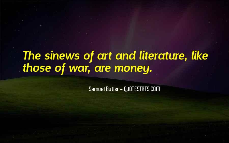 Quotes About The Art Of Literature #394719