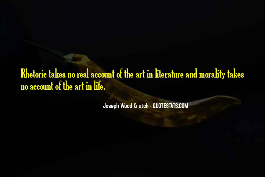 Quotes About The Art Of Literature #425931