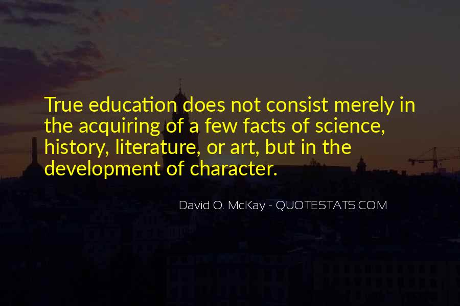 Quotes About The Art Of Literature #482537