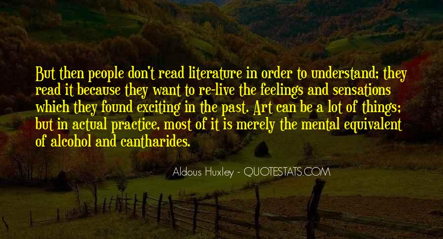 Quotes About The Art Of Literature #55101